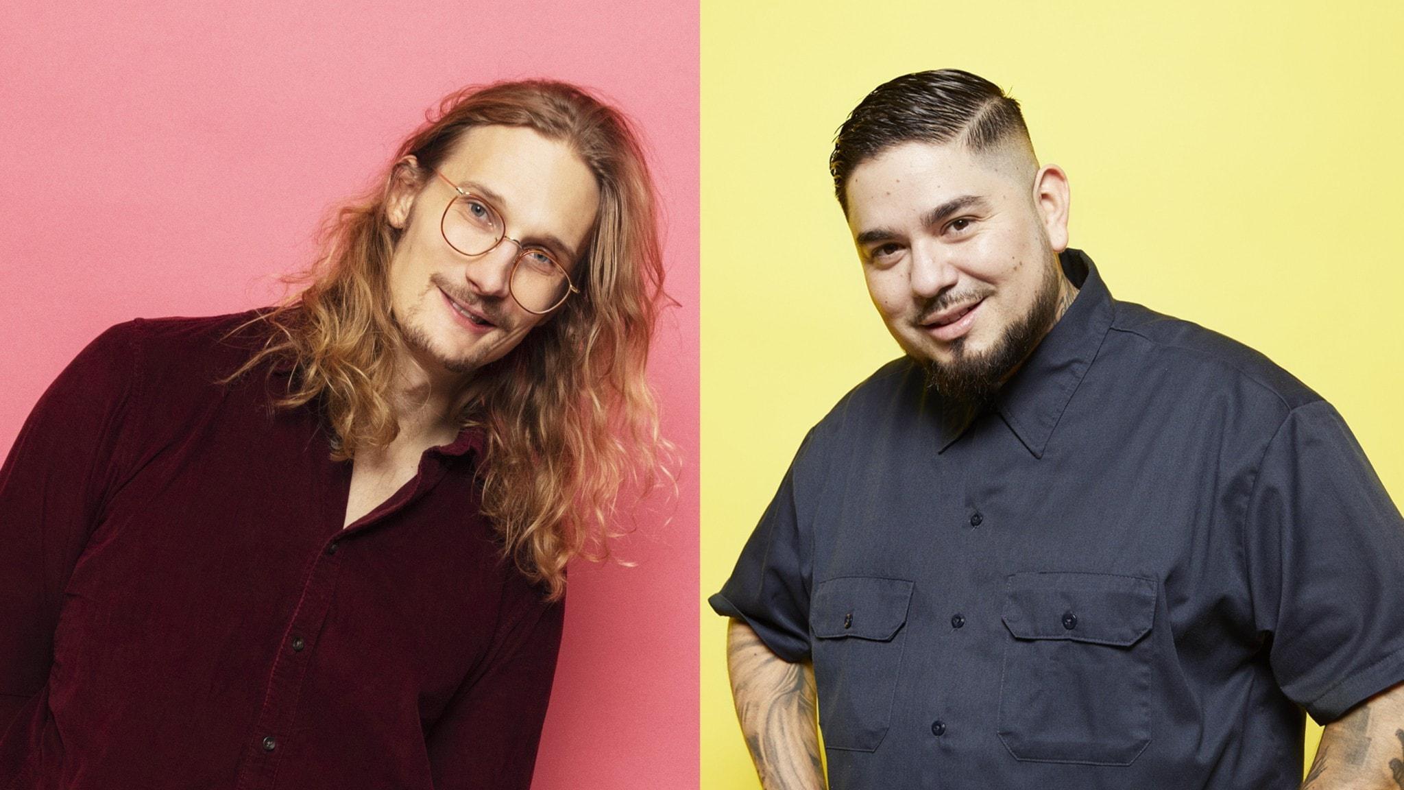 Juan Havana och Marcus Berggren