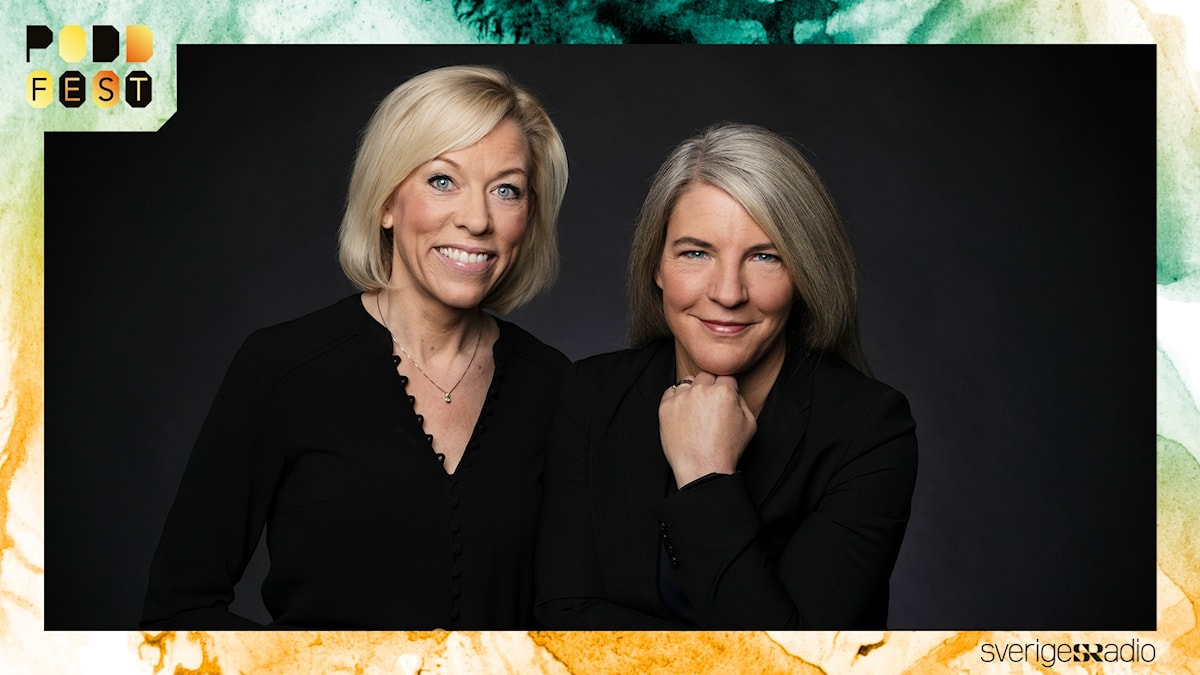 Ginna Lindberg och Sara Stenholm Pihl, USAPodden