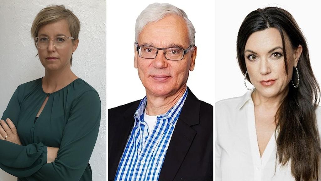 Lisa Pelling, Martin Klepke, Carolin Dahlman