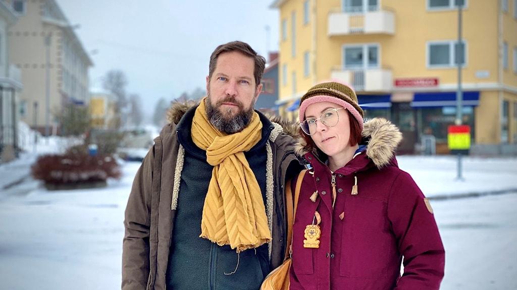 Thomas Engström och Margit Richert.