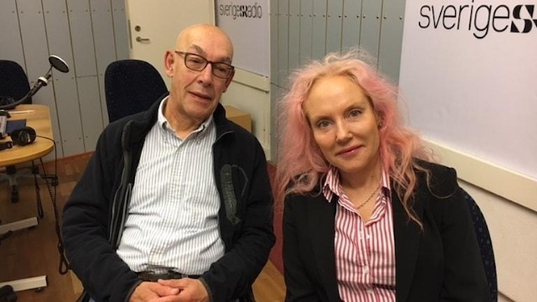 Carl Rudbeck och Pia Fridén