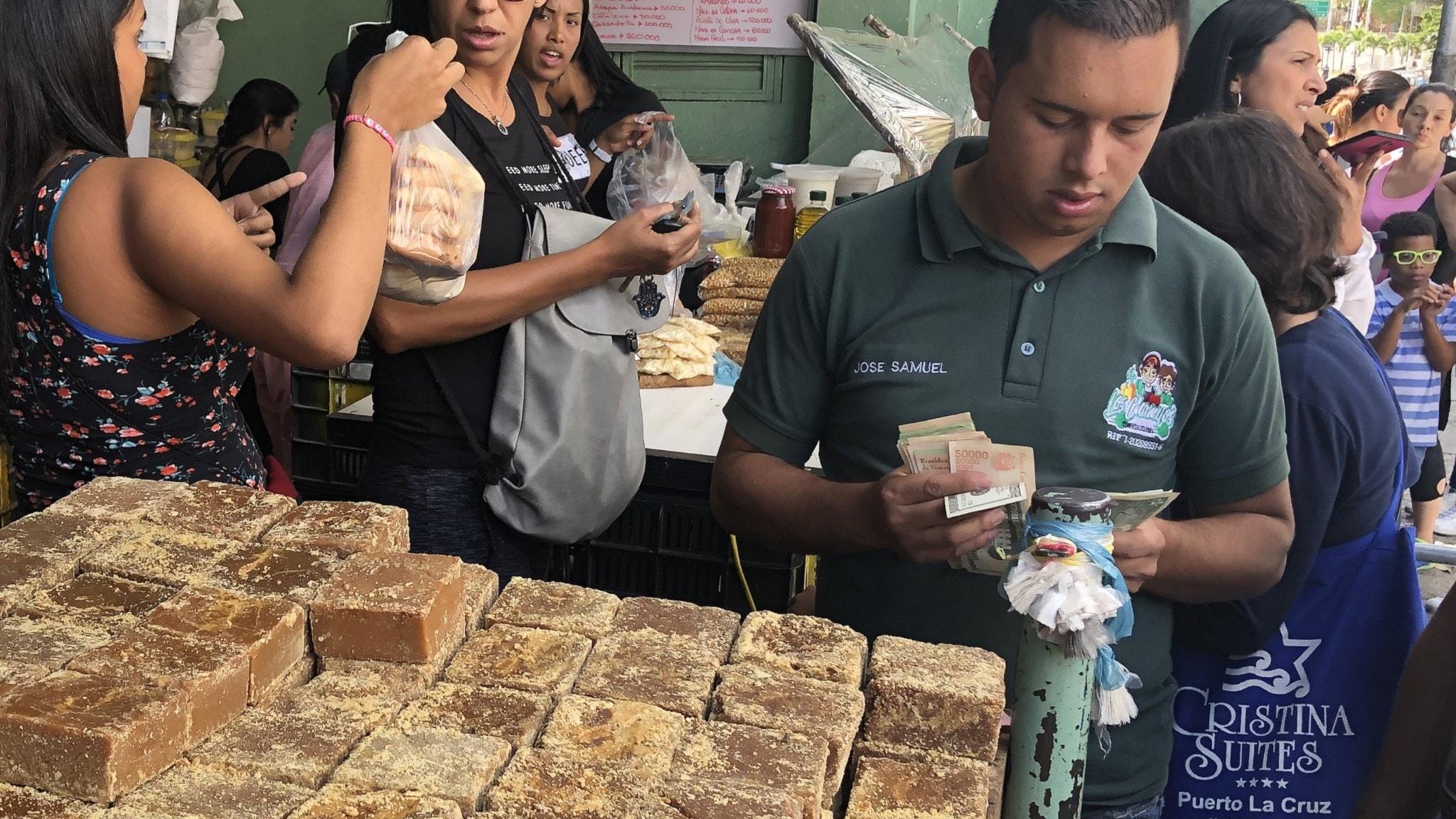 Dollar används flitigt i Venezuela