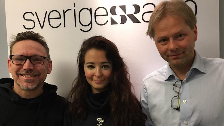 Erik Helmerson, Alice Teodorescu och Anders Lindberg