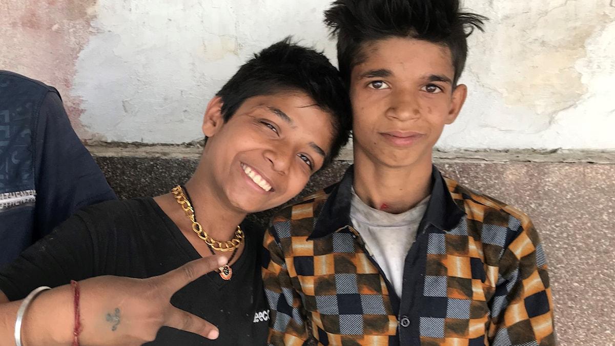 Järnvägsbarn i Indien