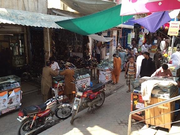 Marknaden i Islamabad.