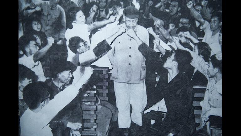 Bild från kulturrevolutionen för 50 år sedan. foto: TT
