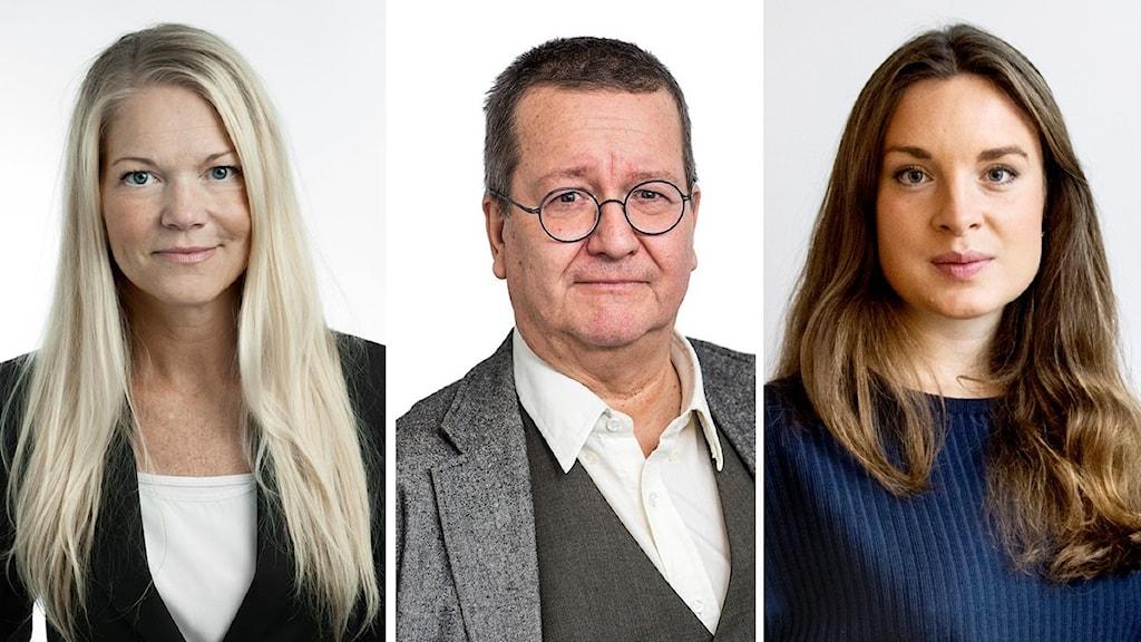 Maria Ludvigsson, SvD, Stigbjörn Ljunggren, Sydöstran, Matilda Molander, VLT.