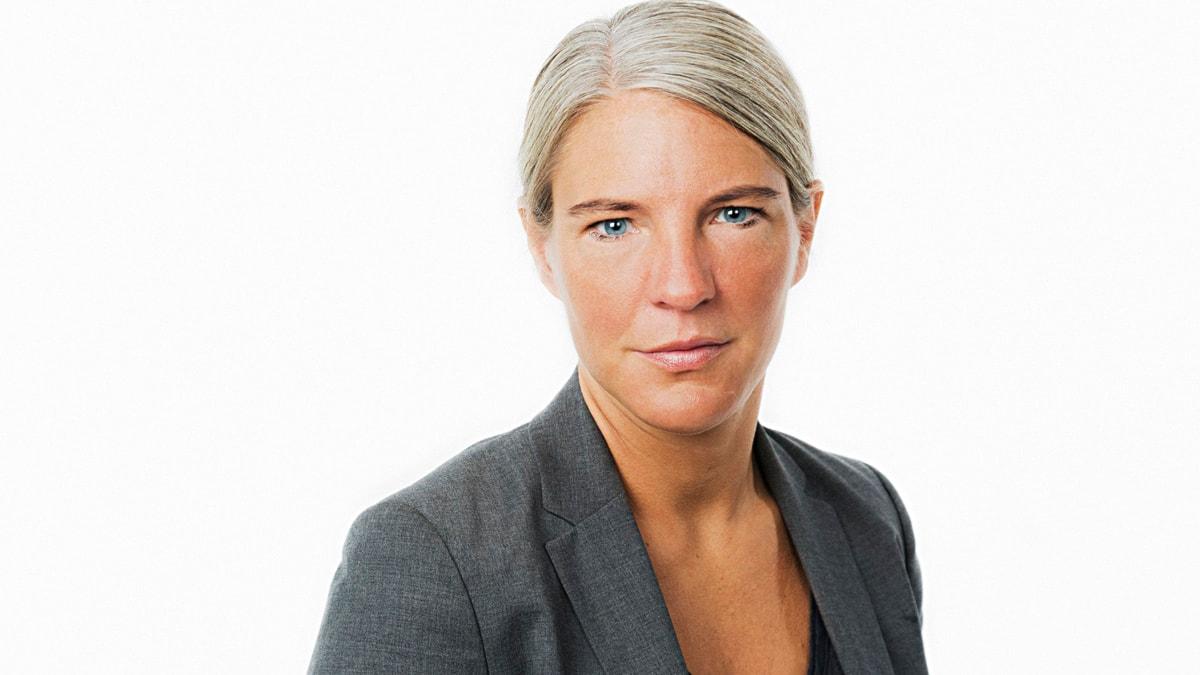 Sara Stenholm. Foto: Mattias Ahlm/Sveriges Radio.