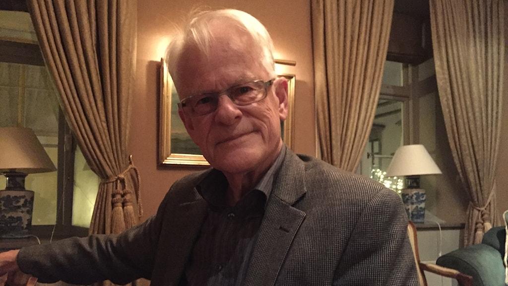 Ingvar Carlsson (S) och oppositionsledare krishösten 1992