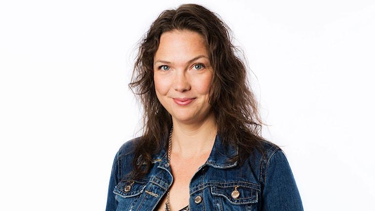 Anna Blomberg. Foto: Mattias Ahlm / Sveriges Radio