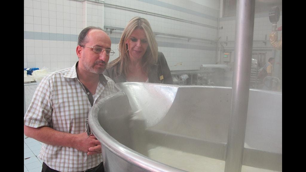 Godisfabriken i Damaskus
