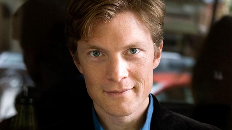 Johan Norberg. Foto: Nathalie Besèr/Sveriges Radio