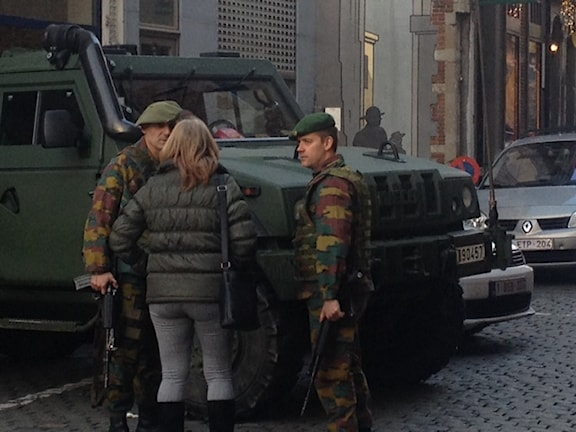 Belgien militär