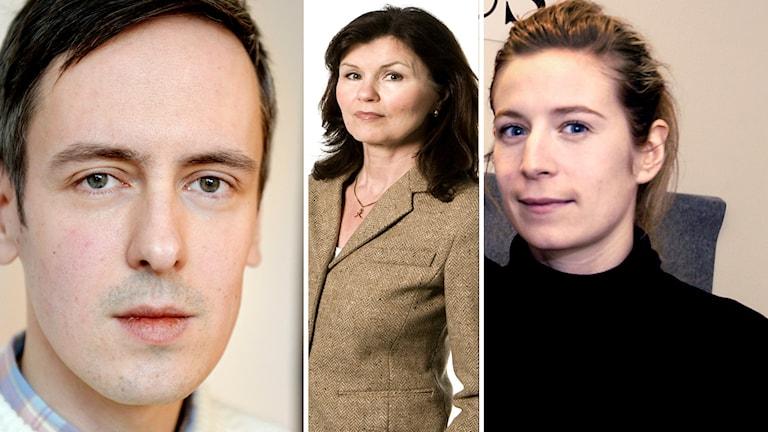 Panelen, Andreas Gustavsson, Heidi Avellan,  Karin Pettersson