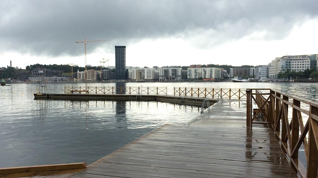 Tantobadet i Stockholm.