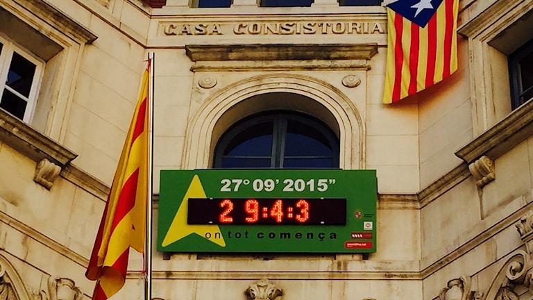 Nedräkning till det katalanska valet.