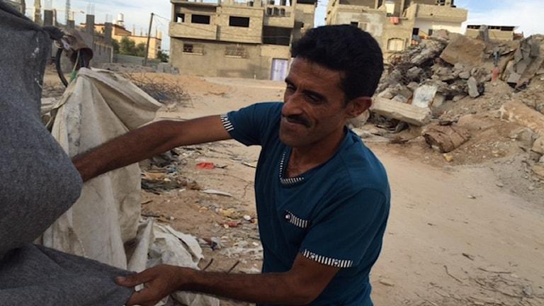 Aymel Elkafarna i Gaza.