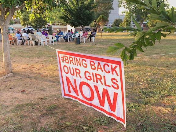 Bring back our girls möte i Abuja