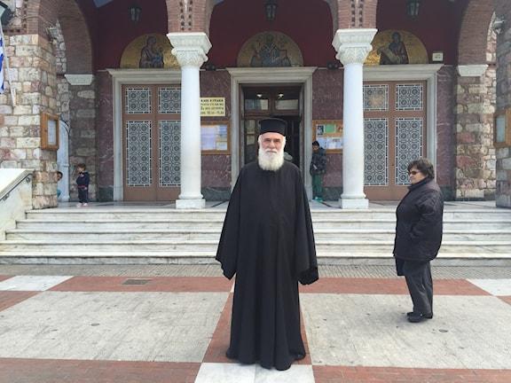 I Grekland är den ortodoxa kyrkan emot homoäktenskap. Foto:Johanna Melén
