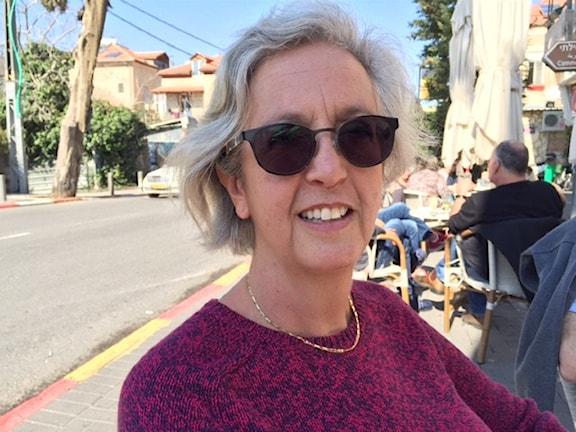 """Svensk israeliska Noomi Stahl: """"jag skäms över Sverige"""""""