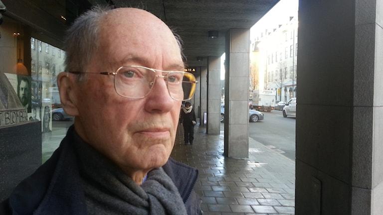 Närbild Svante Nycander