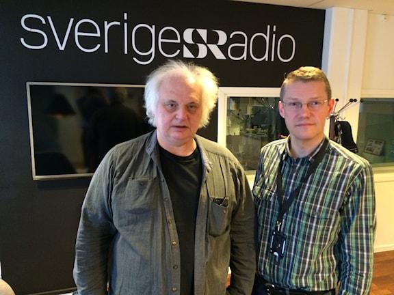 Göran Greider, Dalademokraten och Johannes Åman, Dagens Nyheter. (Lotta Gröning, kolumnist Expressen medverkande från en studio i Västerås)