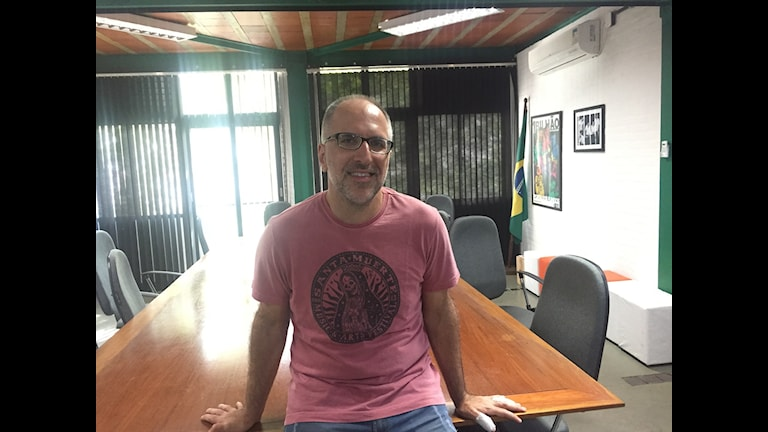Antonio Tabet från den brasilianska humorsidan Porta dos Fundos.