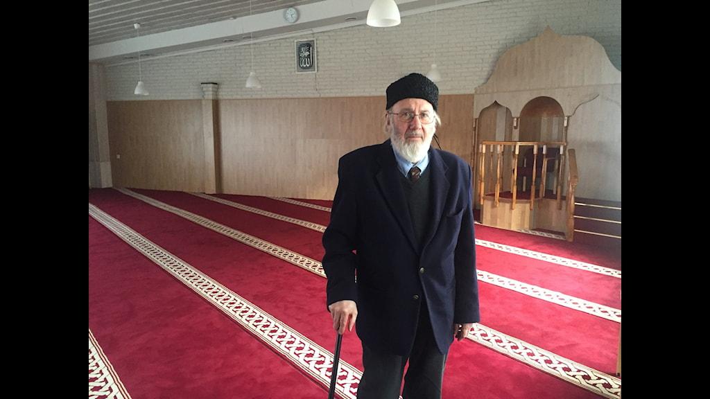 Abd al Haqq Kielan i Stora moskén i Eskilstuna