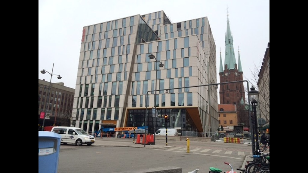 Nya Scandic Continental hotell i Stockholm. Foto: SR