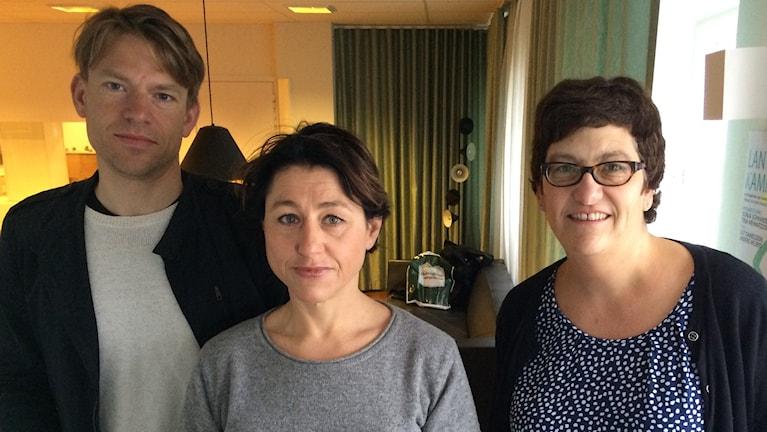 PM Nilsson, Dagens Industri, Hanne Kjöller, DN och Helle Klein, Dagens Arbete