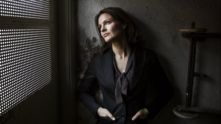 Författaren till boken Gratislunchen Therese Uddenfeldt. Copyright/fotograf: Emil Malmborg