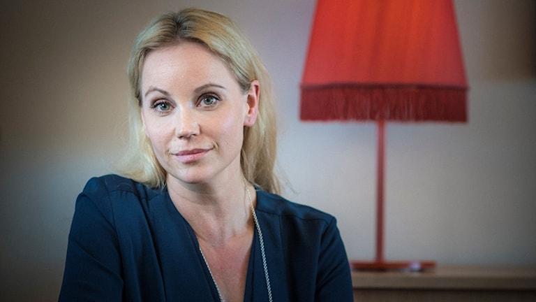 Skådespelaren Sofia Helin