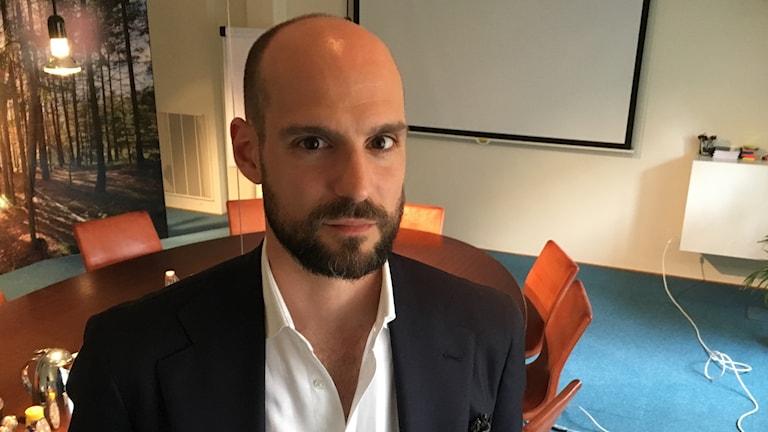 David Orlic, ordförande i KOM, branschförbundet för Sveriges kommunikationsbyråer