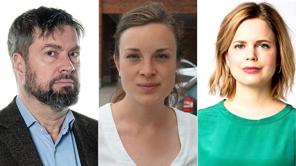 Fredrik Haage, Matilda Molander och Jonna Sima.