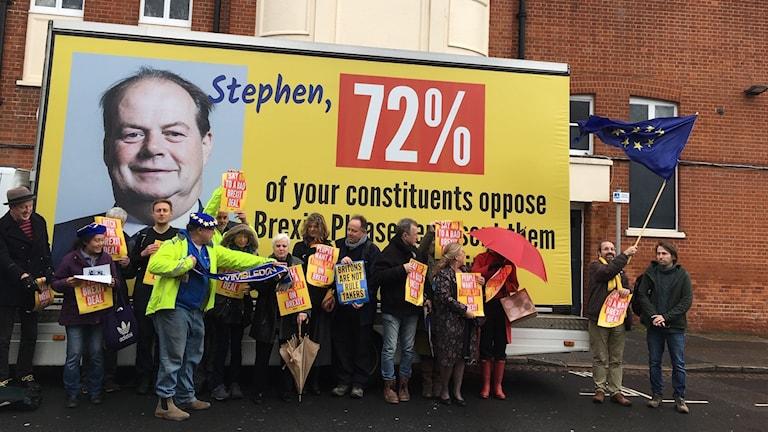 Varje helg samlas aktivister runt om i Storbritannien för att kampanja för en andra folkomröstning.