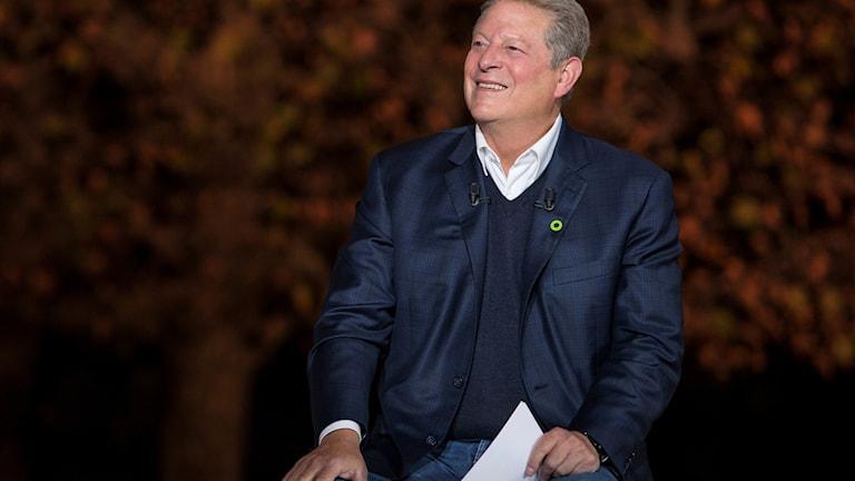 Al Gore på filmpremiär. foto: TT