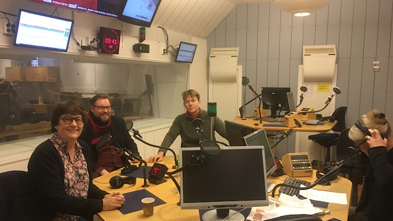 Helle Klein, Toivo Jokkala, PM Nilsson och Sara Stenholm Pihl.
