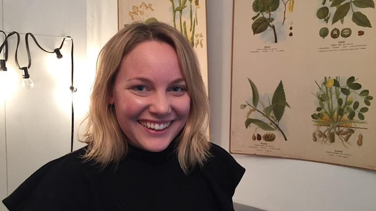 Emelie Bergbohm vill bli politiker.