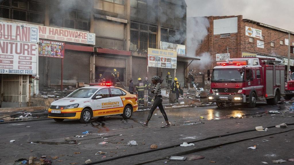 I Sydafrika har våldsamma protester skakat provinsen Kwazulu-Natal under de senaste dagarna.