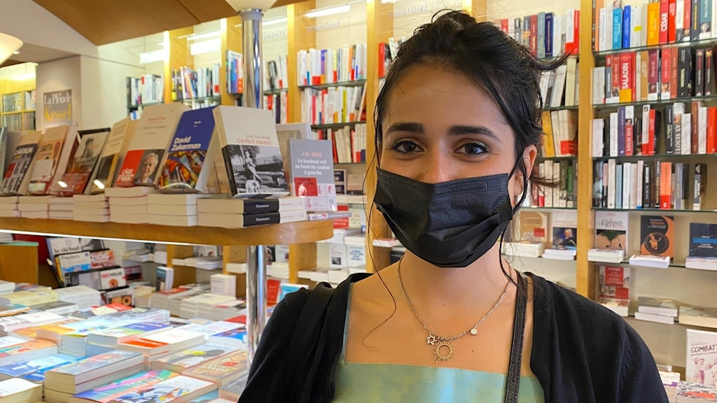 Victoria Paresse, student i Paris.
