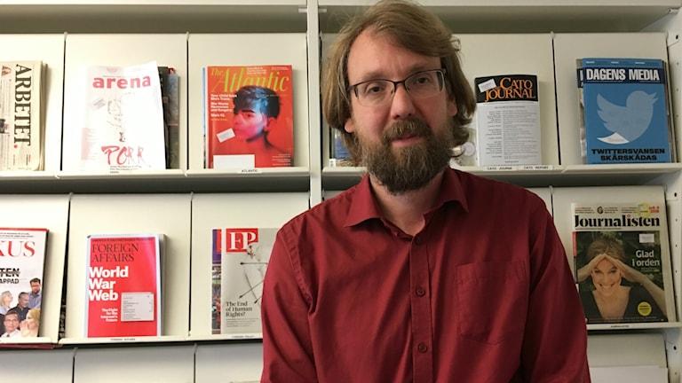 Andreas Johansson Heinö, förlagschef på Timbro.