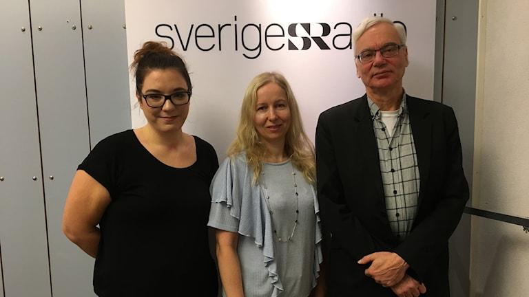 Anna Herdy, Anna Dahlberg och Martin Klepke.
