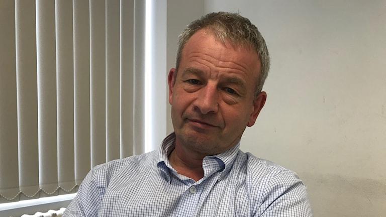 Bart Maddens, professor vid Universitetet i Leuven.
