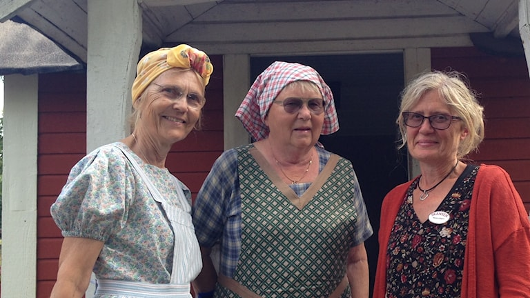 Birgitta Wedel, Monica Karlsson och Maria Löfgren