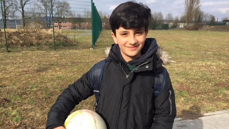 Sahil kom ensam till Tyskland 11 år gammal