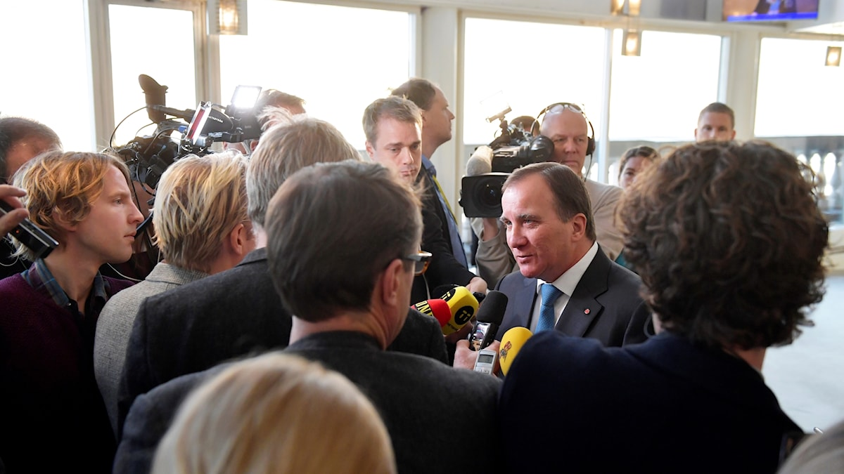 Stefan Löfven har uppdrag att bilda regering. Foto: TT