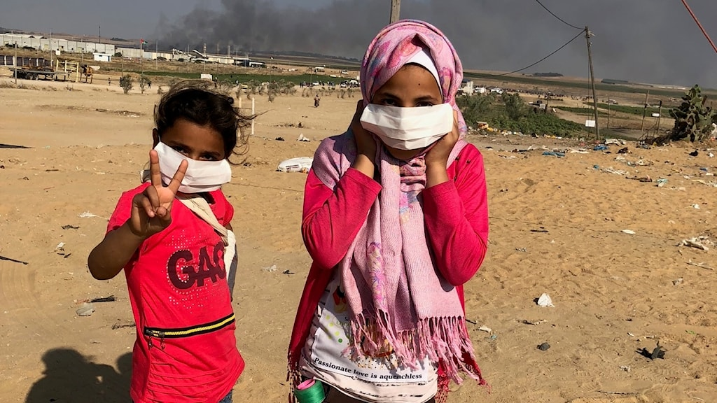 Flickor i Gaza