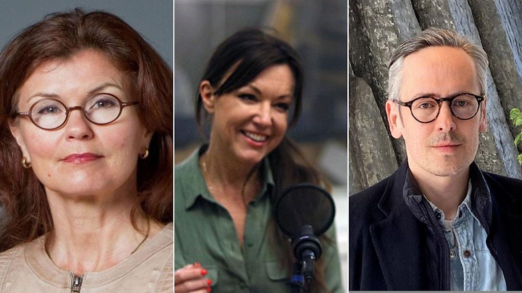Caroline Dahlman, Andreas Gustavsson. Heidi Avellan