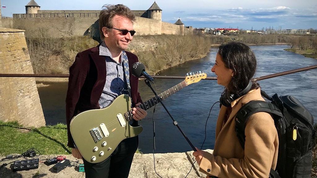 Musik, kultur och särskilt jazz förenar människor, menar Jaak Soäär.