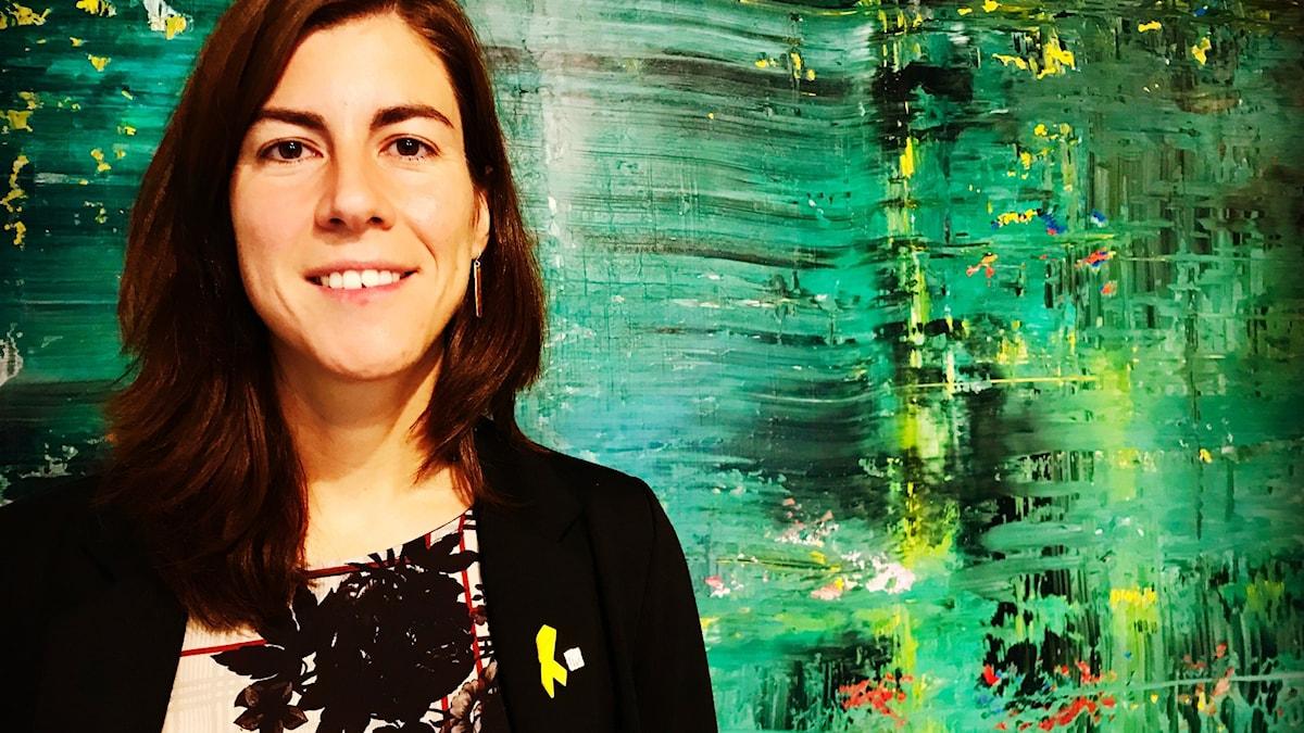 Mireia Borrell Porta från Kataloniens regionregering.